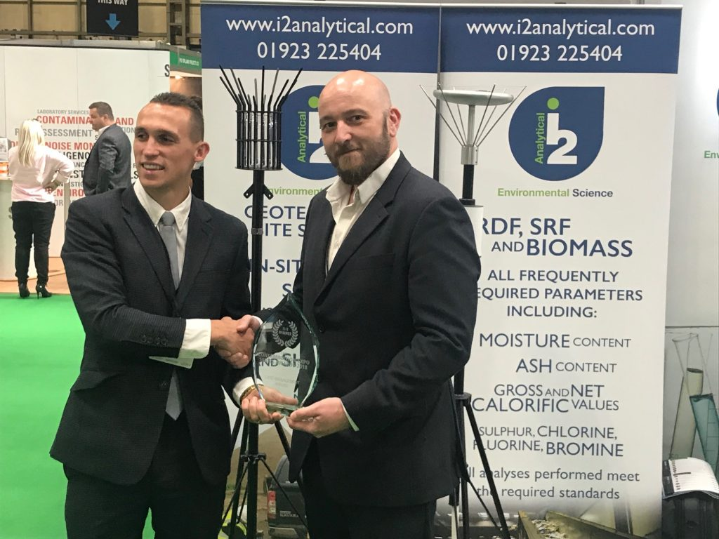 i2 Analytical - Winners Land Management Award 2018