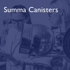 Summa Canisters at i2 Analytical