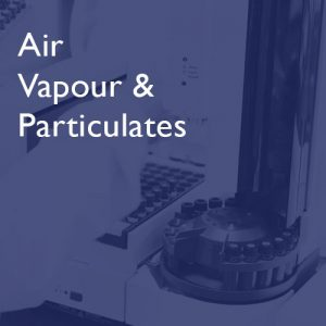 Air, Vapour and Particulates at i2 Analytical
