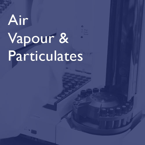 Air, Vapour & Particulates - i2 Analytical