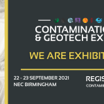 i2 Analytical exhibiting at the Contamination & Geotech Expo – 22nd & 23rd September 2021